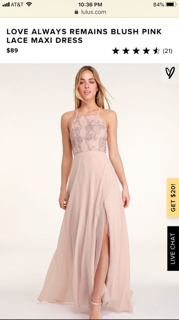 Bridesmaid's Dresses Recommendations 4