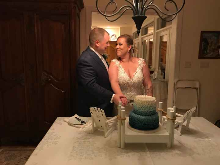 Non-pro Bam! We're married!!! - 5