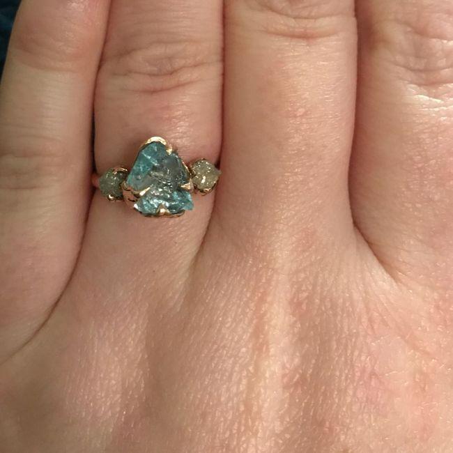 Show me your unique engagement rings! 6