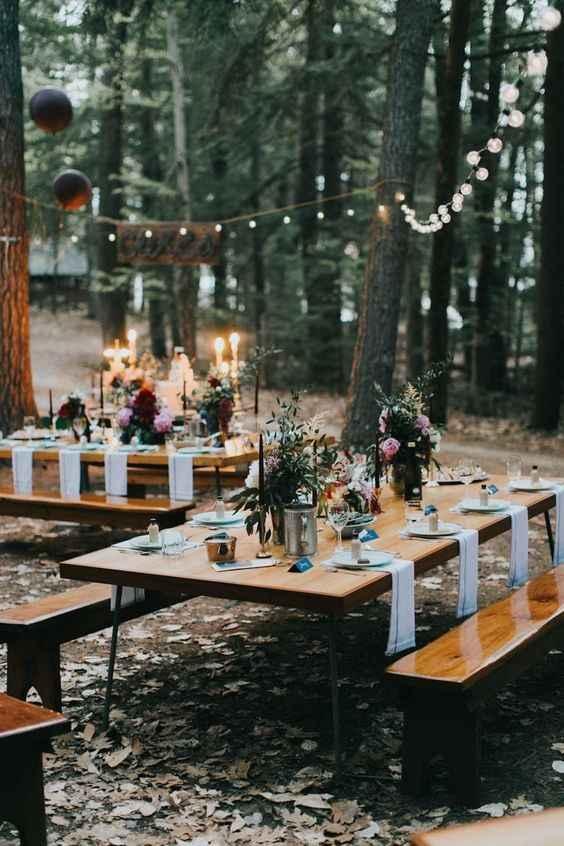again love the farm tables
