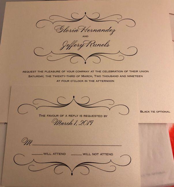 Wedding Invitations 3