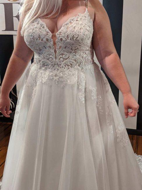 i think i found my dress! 1
