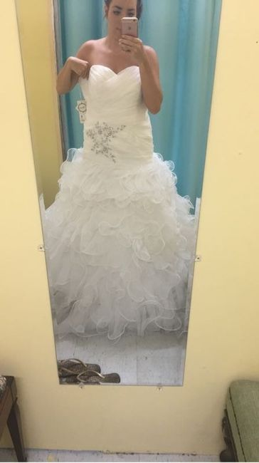 Had my first fitting