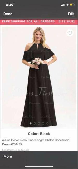 Bridesmaid dress- does this look like wedding dress? 5