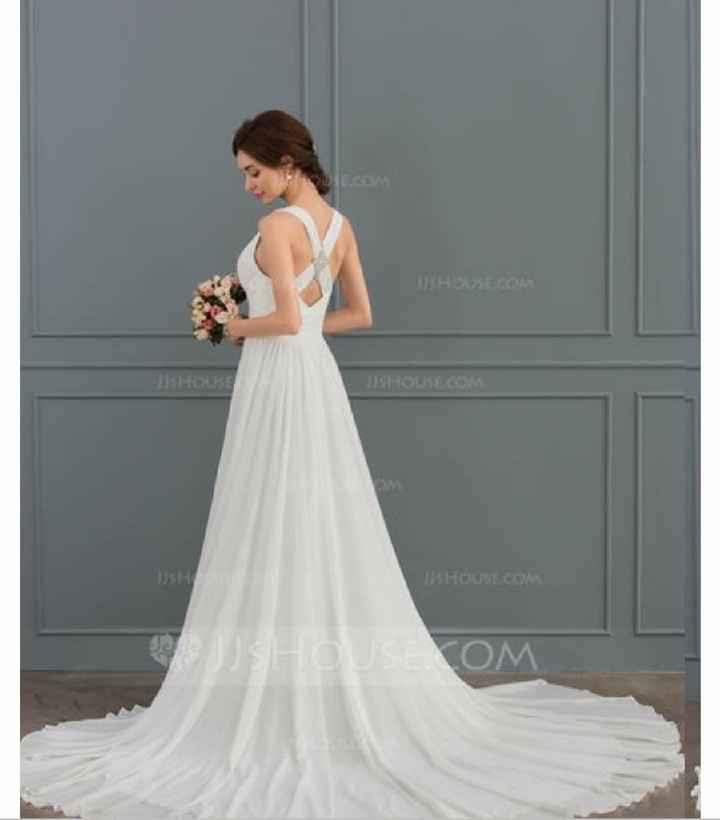 Budget Friendly Wedding Dress (?) - 1