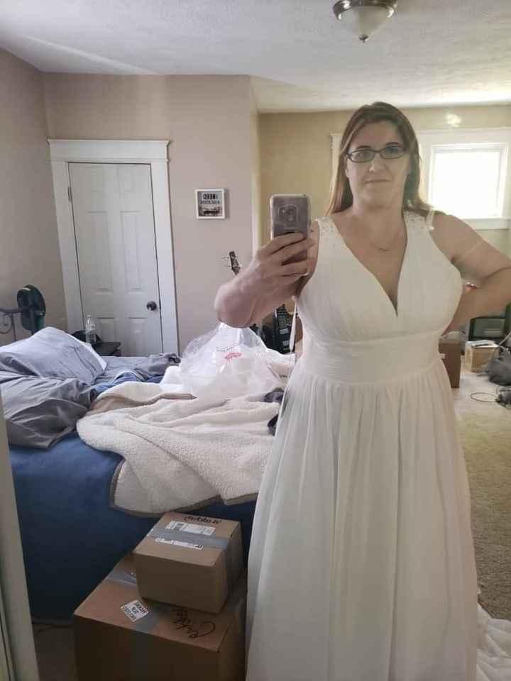 Budget Friendly Wedding Dress (?) - 2