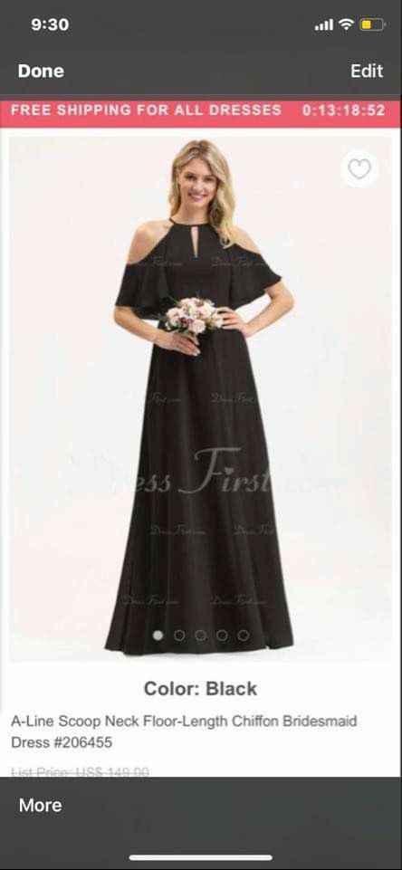 Bridesmaid dress- does this look like wedding dress? - 2