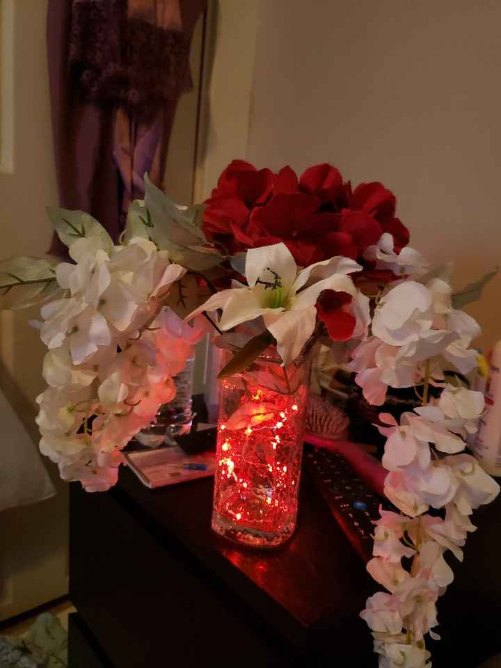 Finished the centerpieces - 1