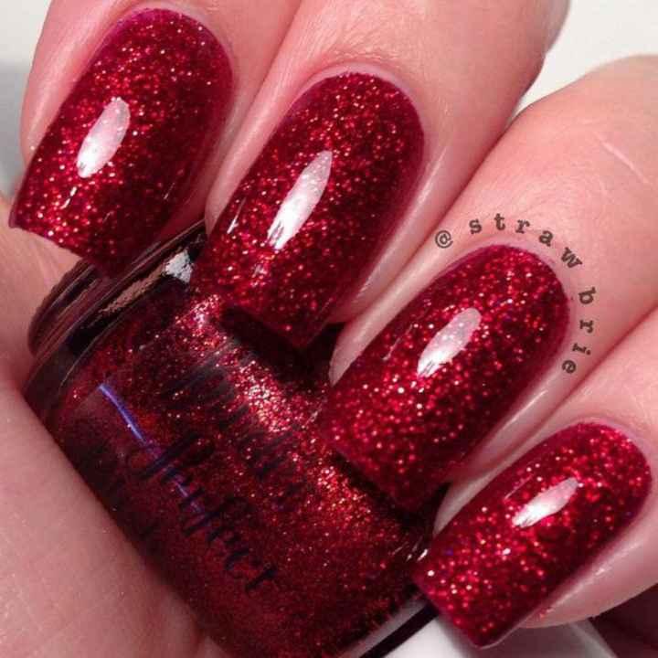 Vibrant bridal nails, yay or nay? - 2