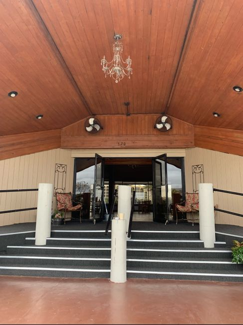 Where are you getting married? Post a picture of your venue! 10