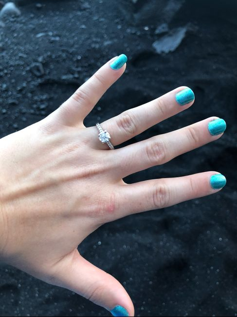 Can i see your engagement rings?? - 2