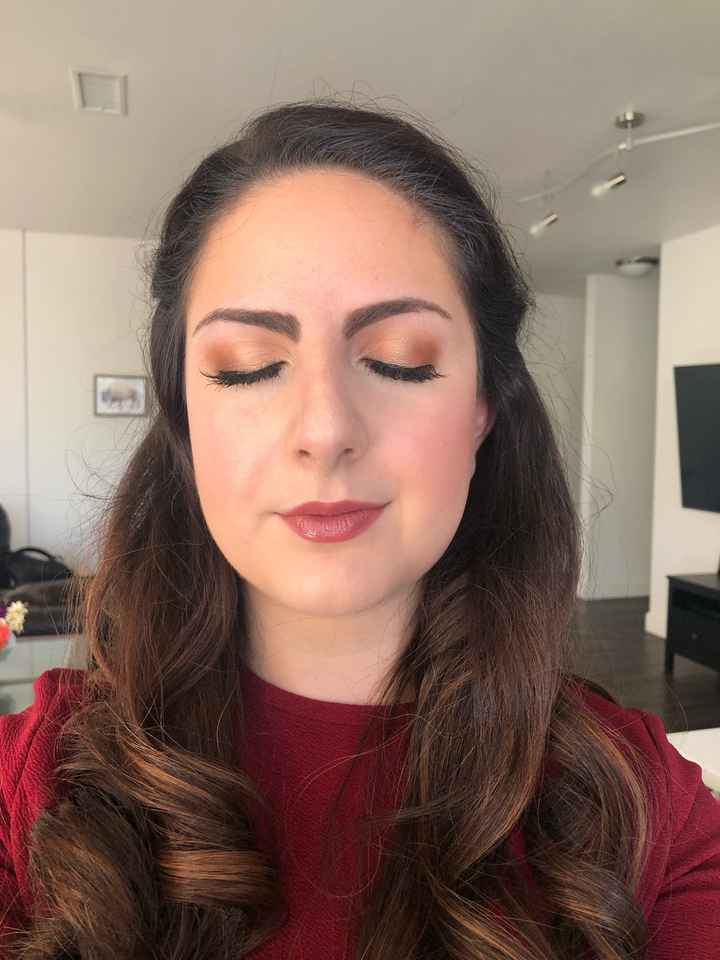 Pro makeup for engagement shoot? - 2