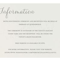 Information Card - 1