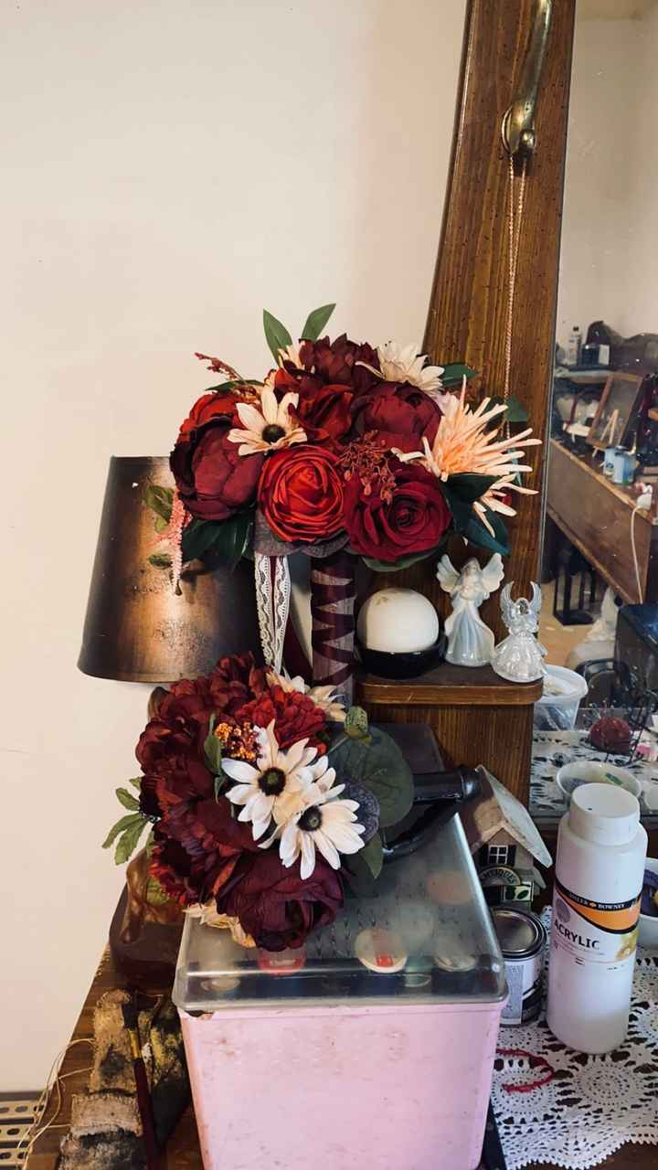 Pictures of fake flower bouquets - 1