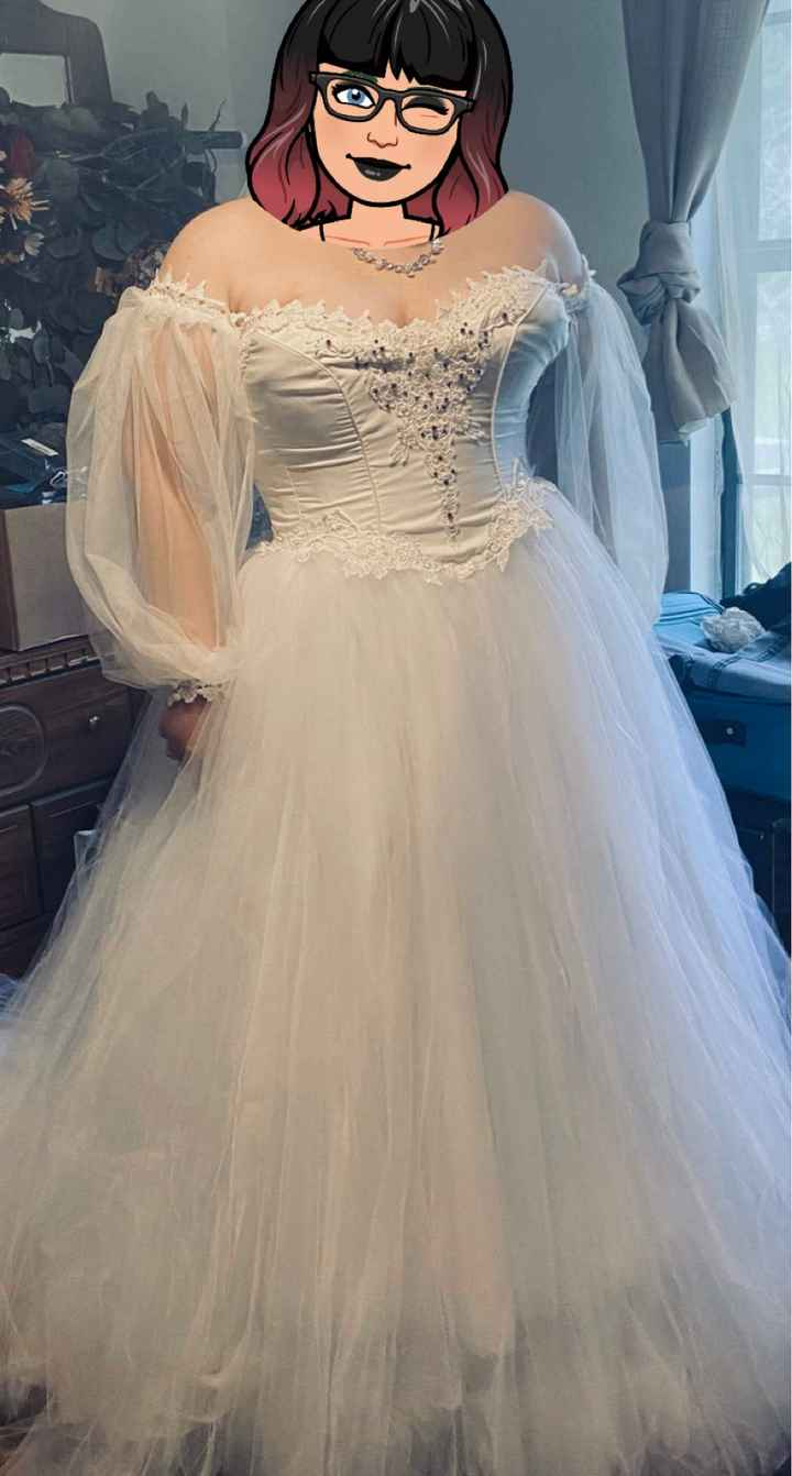 Anyone going unique/ vintage/ handmade/ 2nd hand for wedding dress? Show them off! - 1