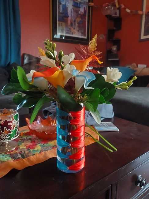 diy Flower Centerpieces - Not sure I'm happy with them :( 10
