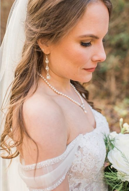Share your bridal necklace & earrings 10