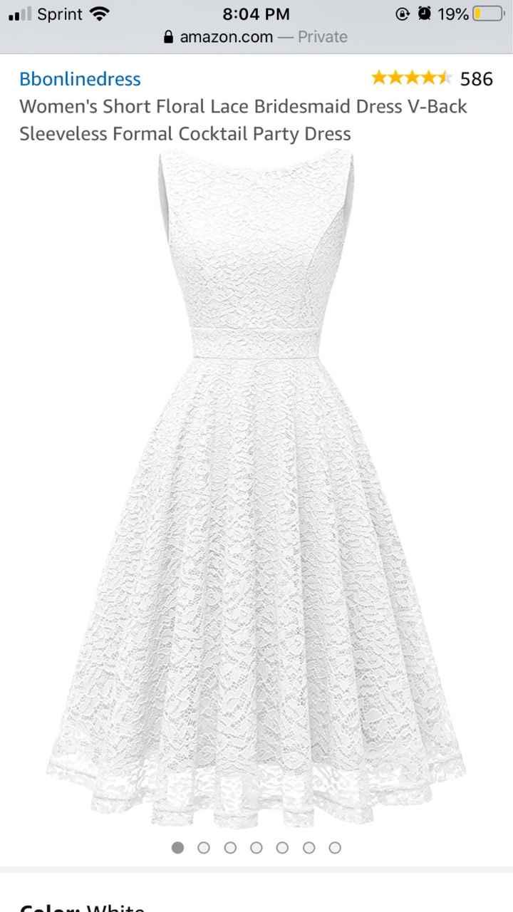 Bridal shower dress - 1