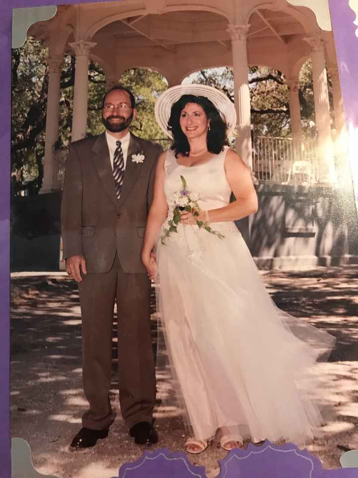 Just for fun...80s and 90s wedding gowns!! - 1