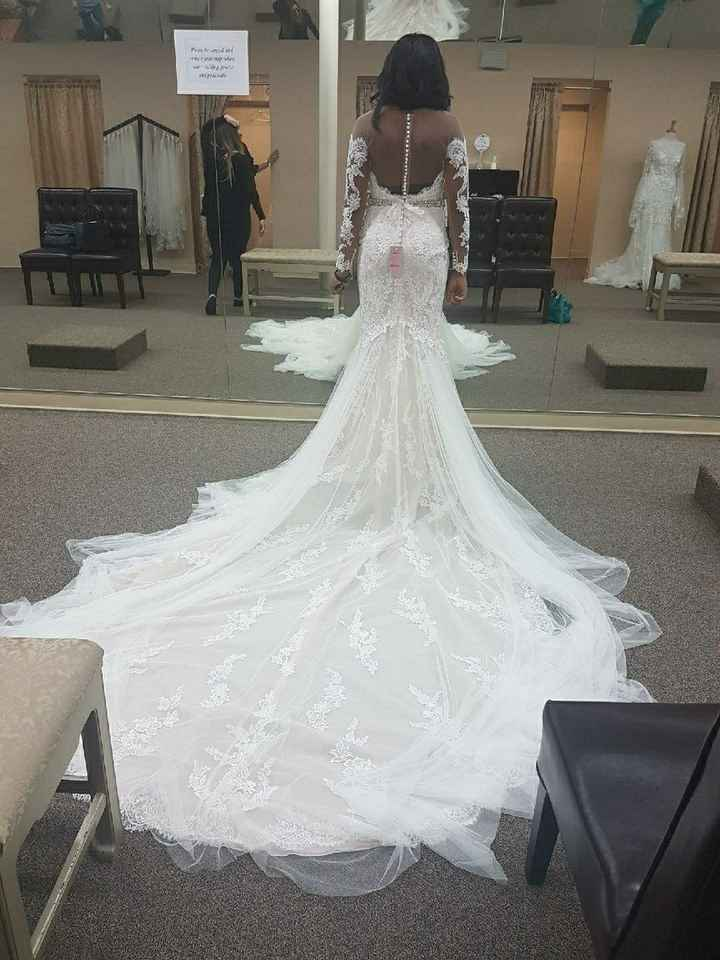 How much was your wedding dress? - 2