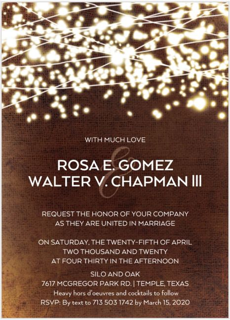 Invitations ordered, show me yours! 9