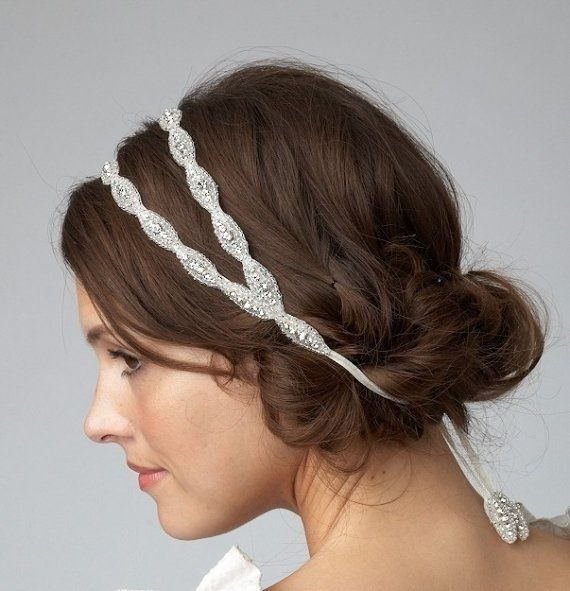... veil she makes to the the ribbon strand of the headband I buy. Well I  found 2. They re the same thing essentially but one is a double band. 3dc0aee0324
