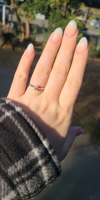 Show off your rings! 8
