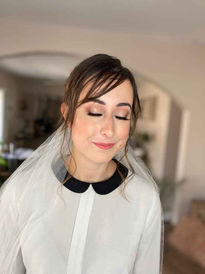 Makeup and Hair trials - 2