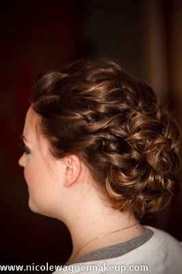What did you hair look like on your wedding day?