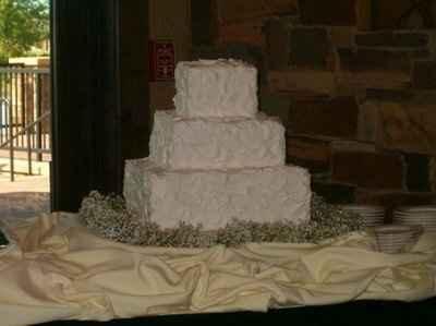 wedding cake minus that thick layer of effing sugar