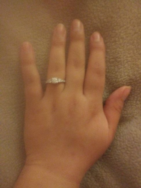 My engagement ring ❤❤ 1