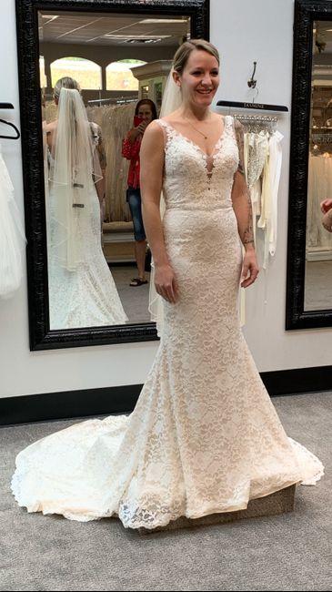 i said yes to the dress! 7