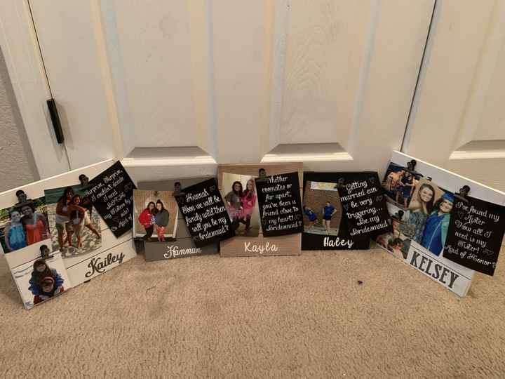Bridesmaids proposal boxes! - 1