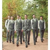 What should the groom and groomsmen