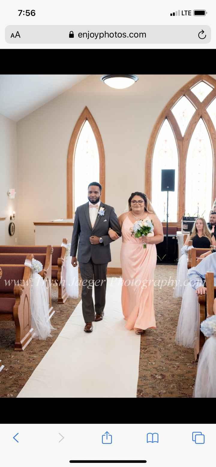 Bridesmaid/groomsman Walk 1