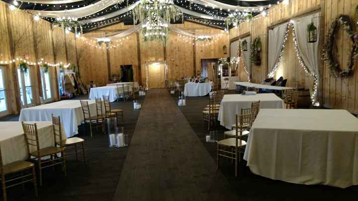 Ceremony and reception in same room - 1