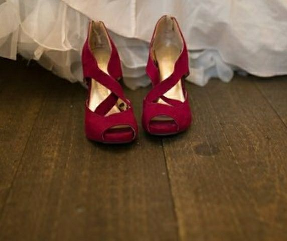 Red shoes - 1