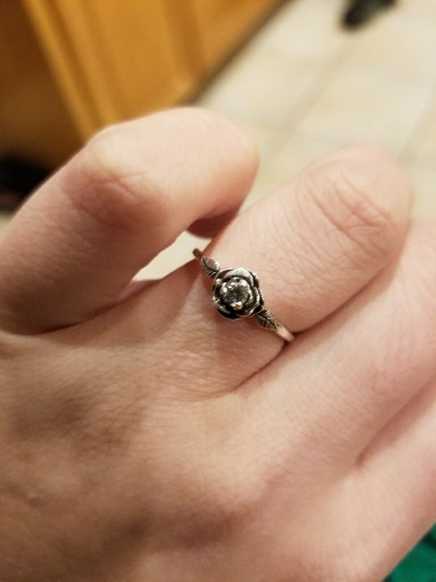 Sleeping with ring on - 1