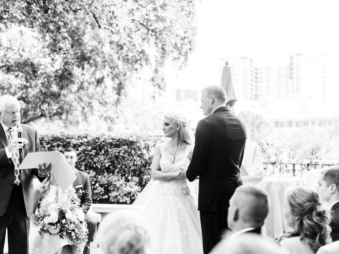 Outside wedding 7