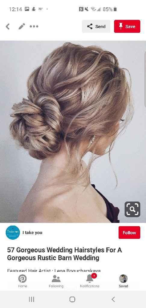 Your wedding hairstyle - 2