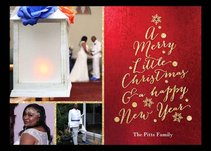 CHRISTMAS CARDS #1- FRONT