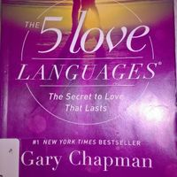 5 Love Languages- By Gary Chapman