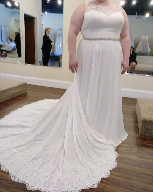 Did you say yes to the dress? 5