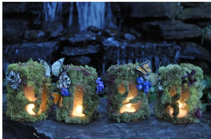 diy Enchanted Forest Themed Wedding Decorations 16