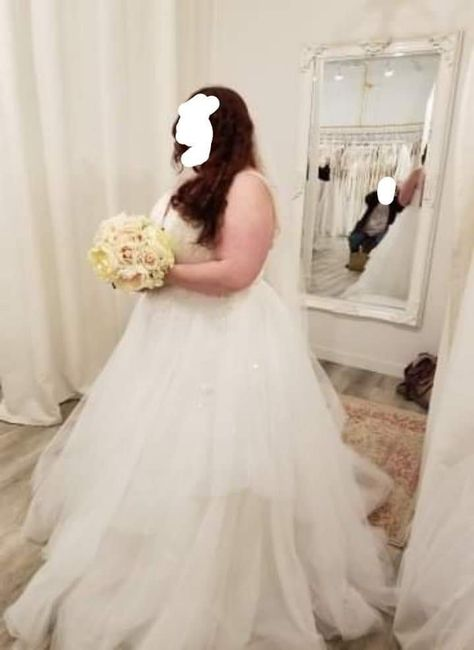 Dress Listed as Ivory---but It's not Ivory 2