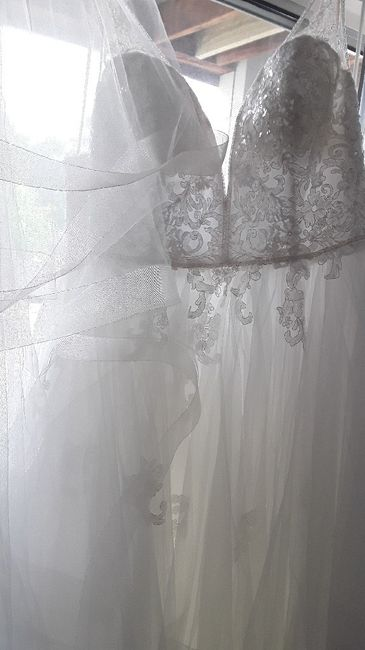 Veil or no veil... and if you choose a veil - will you wear it over your face when you walk down the isle? 3