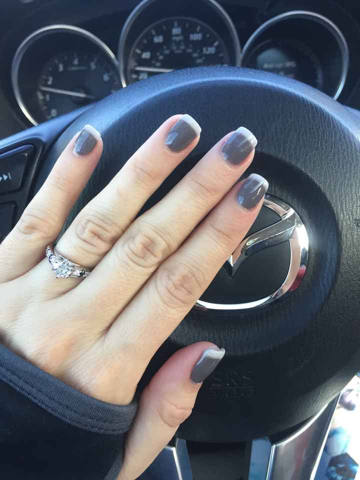 Less Traditional Wedding Nails - 2