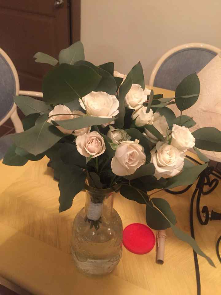 Trader Joe's diy Flowers - 1