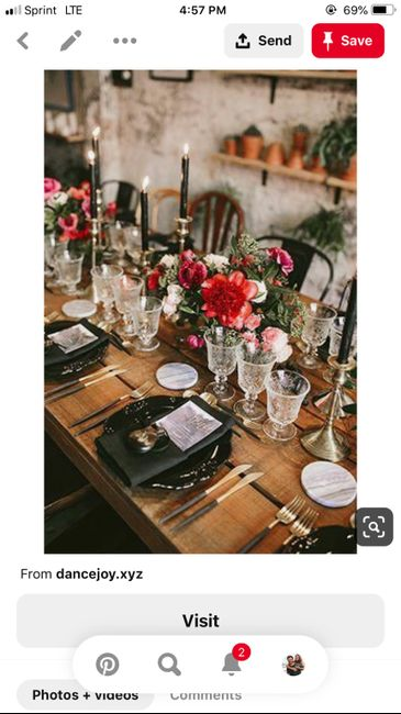 Fall Wedding Color Suggestions - 2