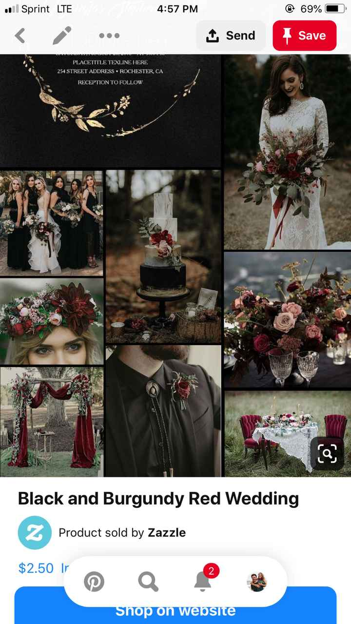 Fall Wedding Color Suggestions - 1